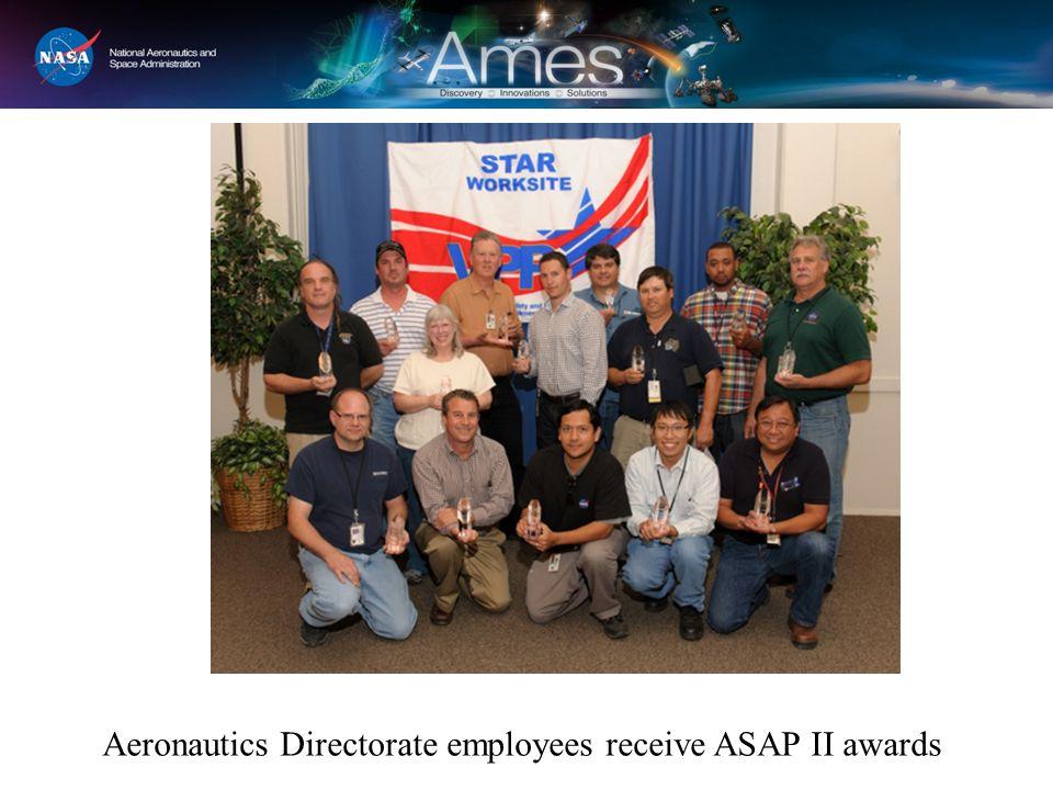 Aeronautics Directorate employees receive ASAP II awards