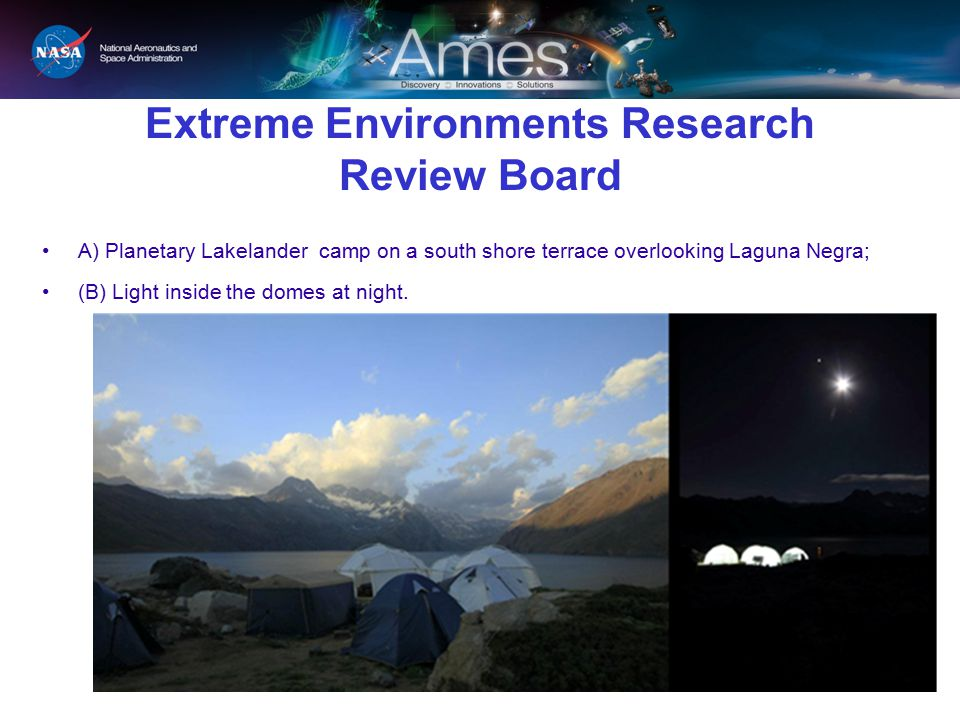 Extreme Environments Research Review Board
