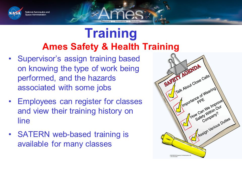 Training Ames Safety & Health Training