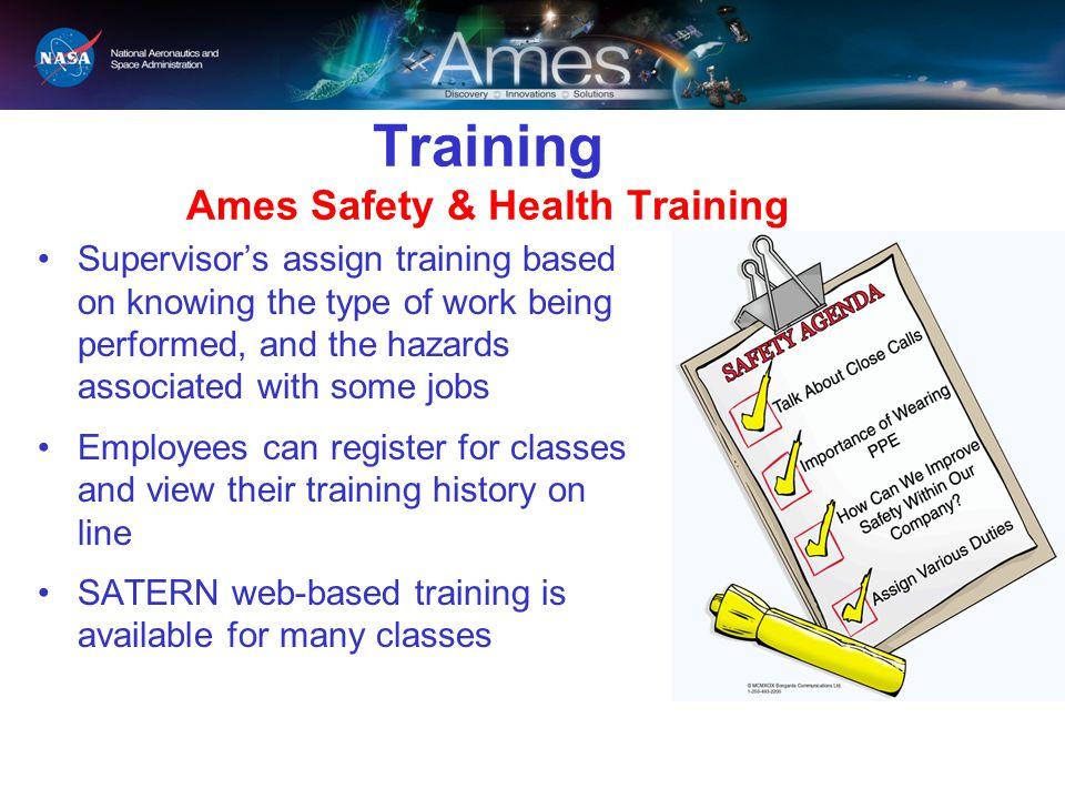 Training Ames Safety & Health Training