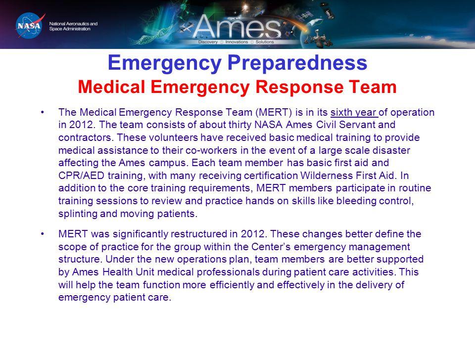 Emergency Preparedness Medical Emergency Response Team