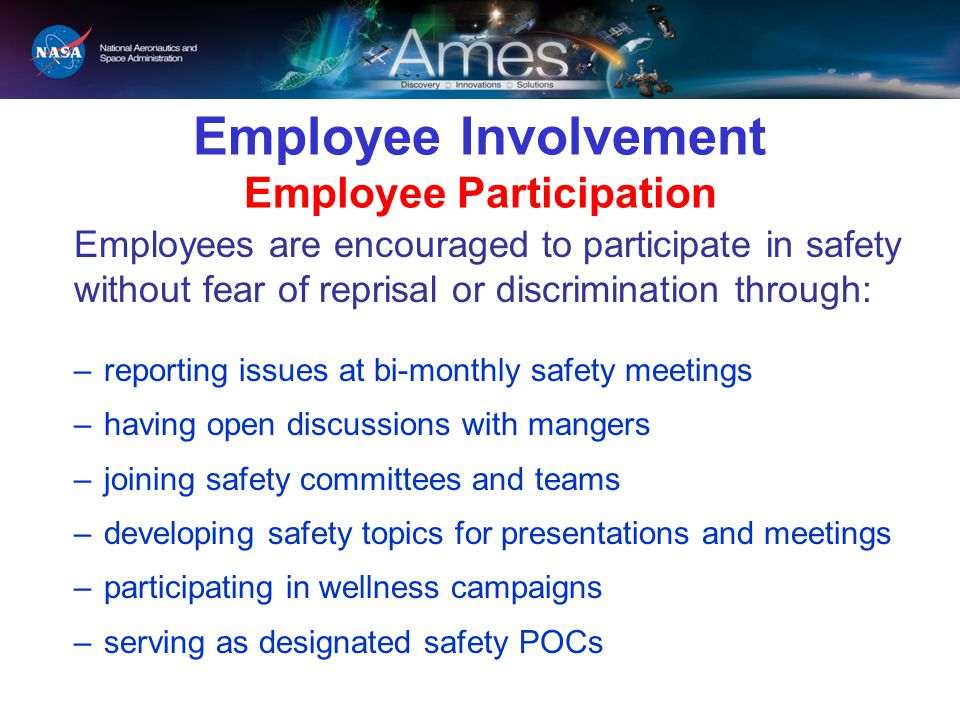 Employee Involvement Employee Participation