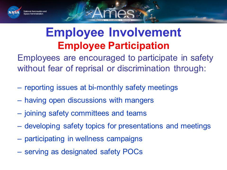Employee Involvement Employee Participation