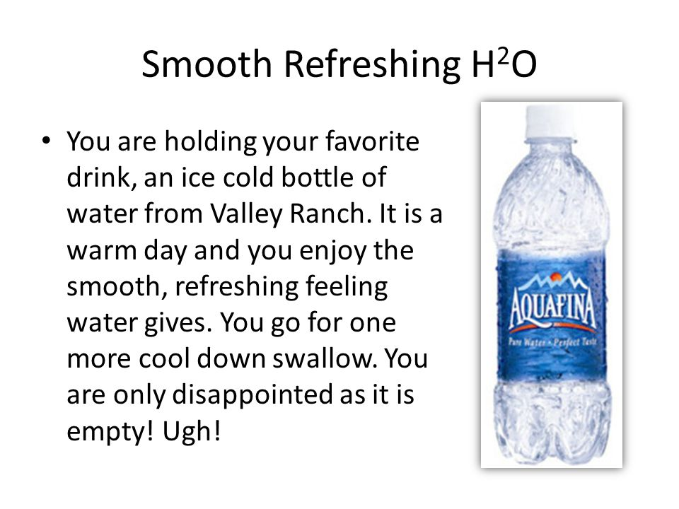 Smooth Refreshing H2O