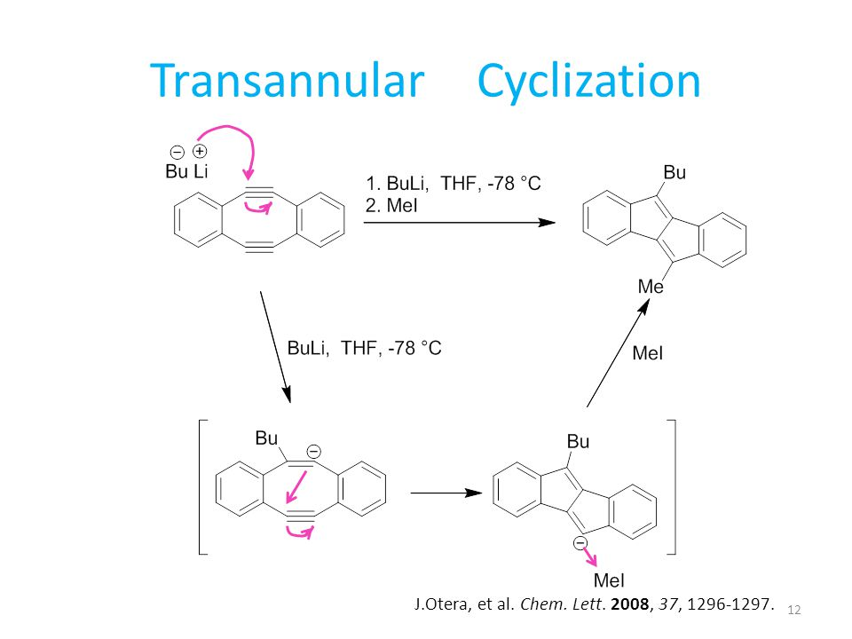 Transannular Cyclization