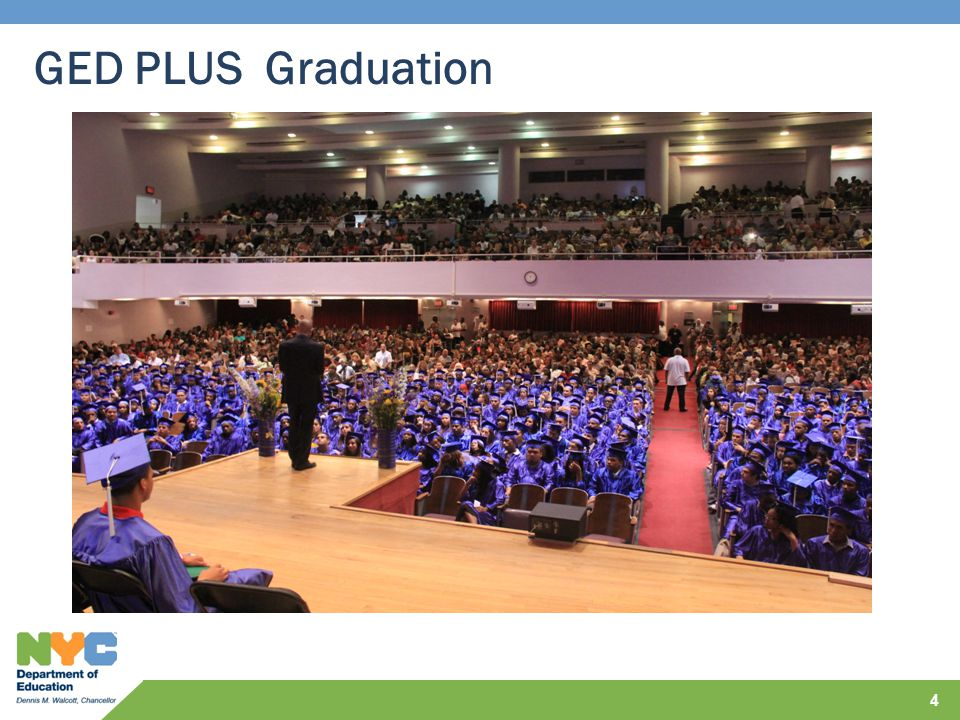 GED PLUS Graduation