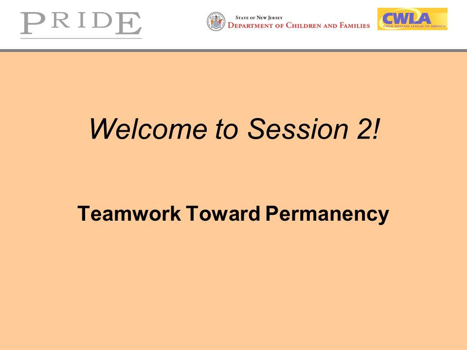 Teamwork Toward Permanency