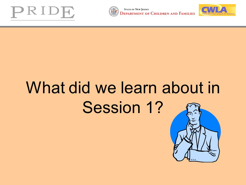 What did we learn about in Session 1