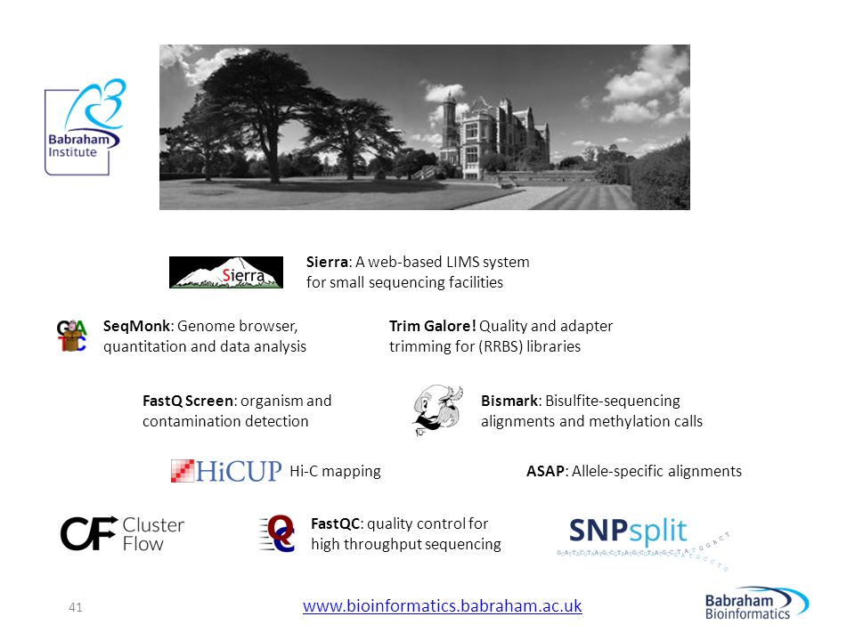 www.bioinformatics.babraham.ac.uk Sierra: A web-based LIMS system