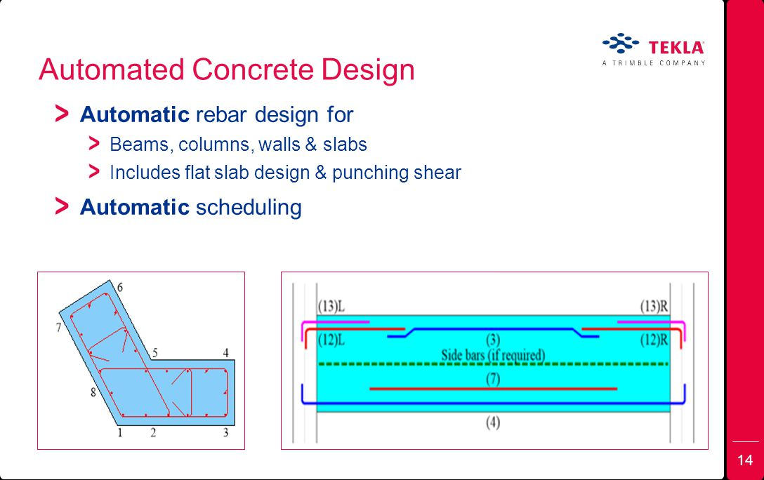 Automated Concrete Design