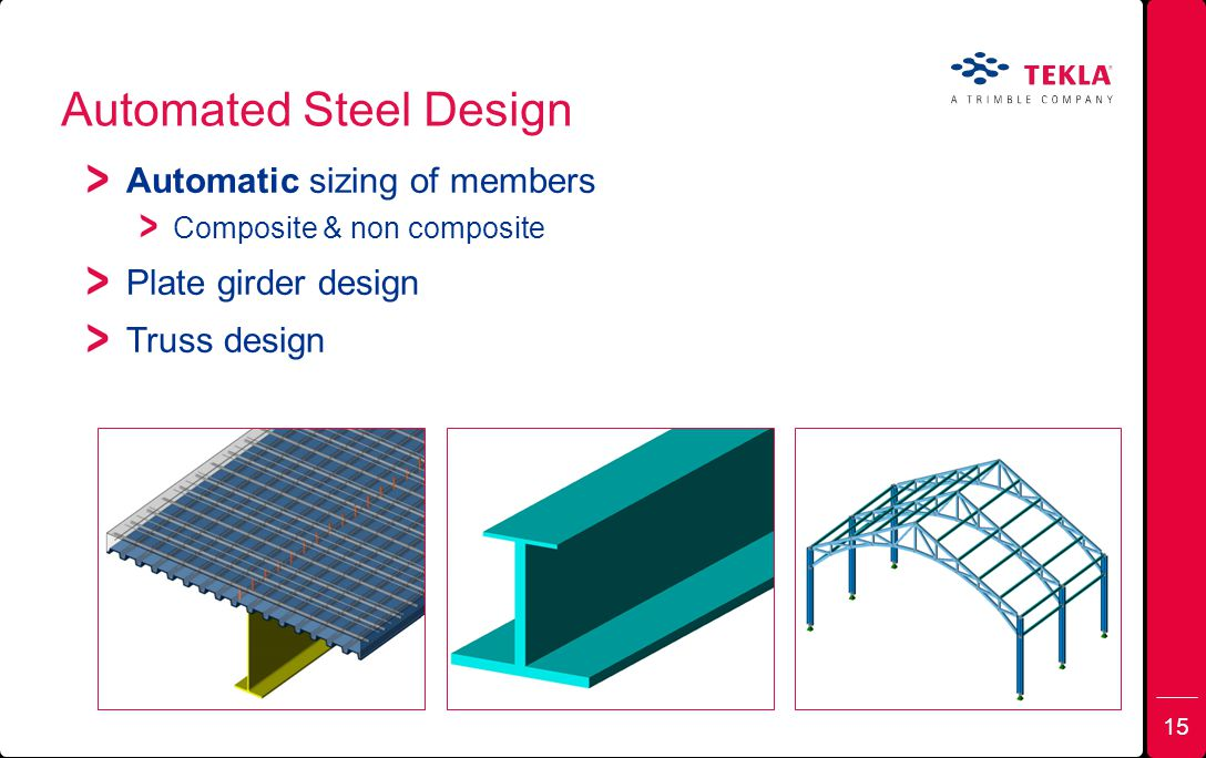 Automated Steel Design