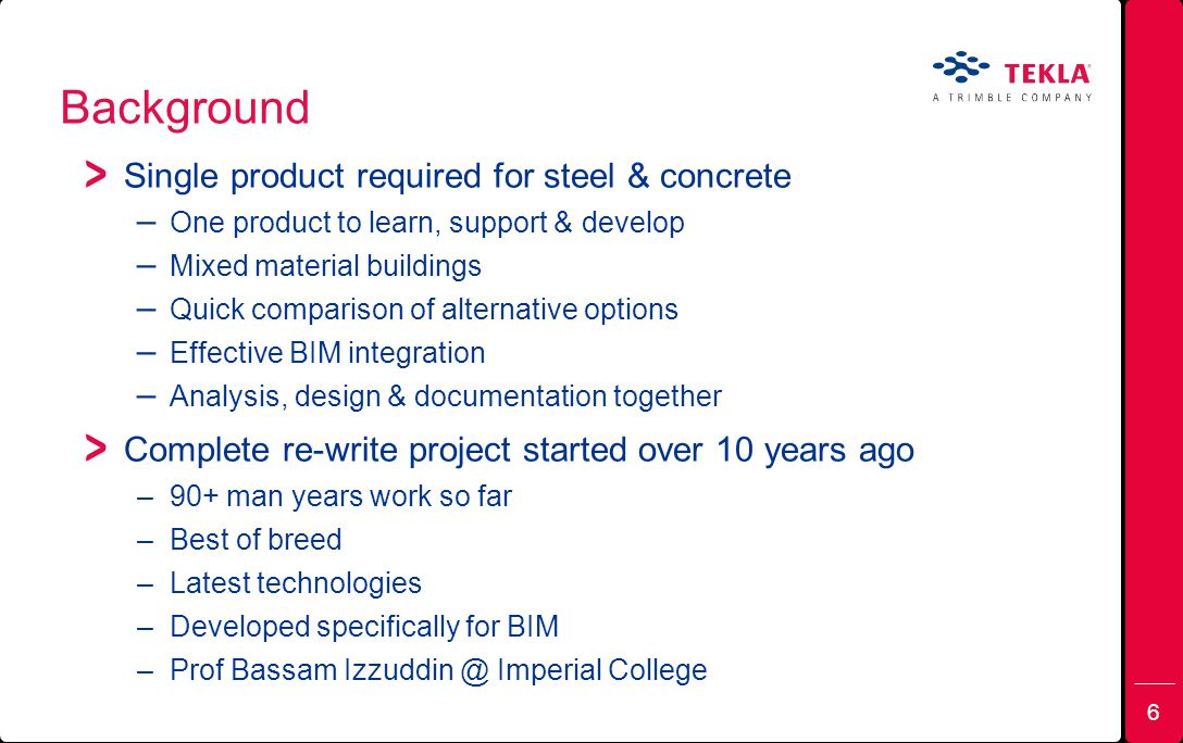 Background Single product required for steel & concrete