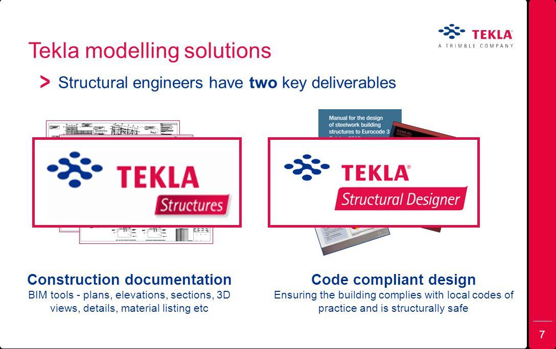Tekla modelling solutions