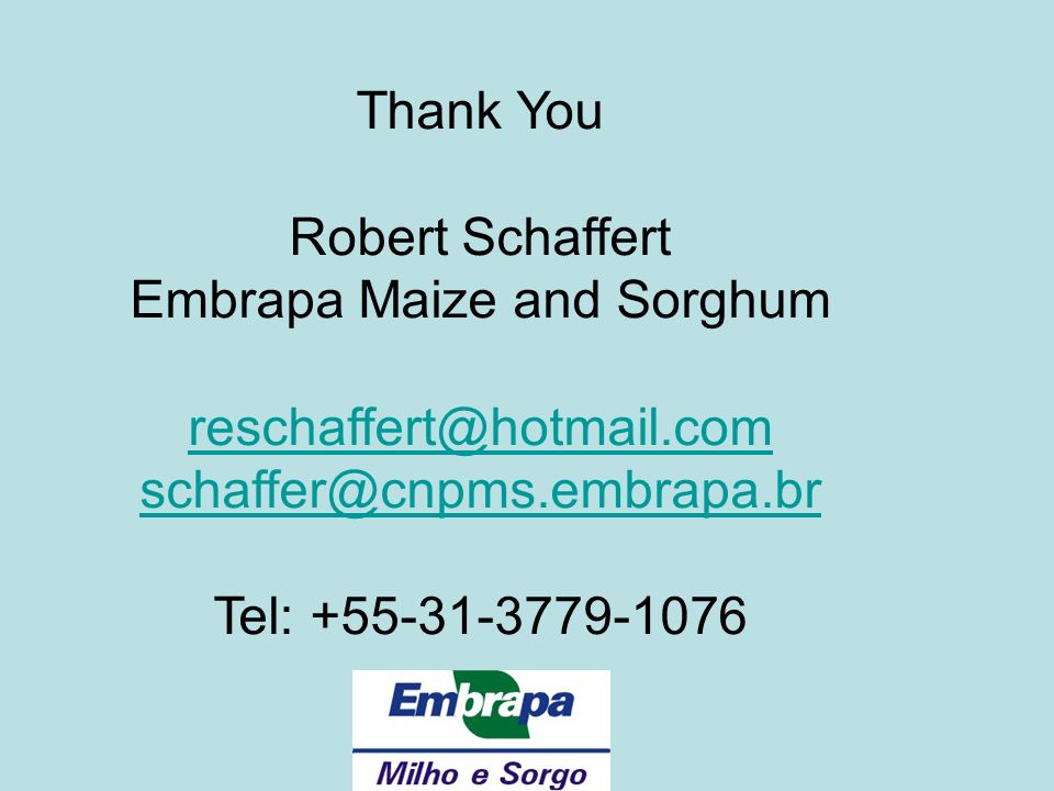 Embrapa Maize and Sorghum