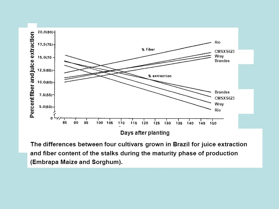 Percent fiber and juice extraction
