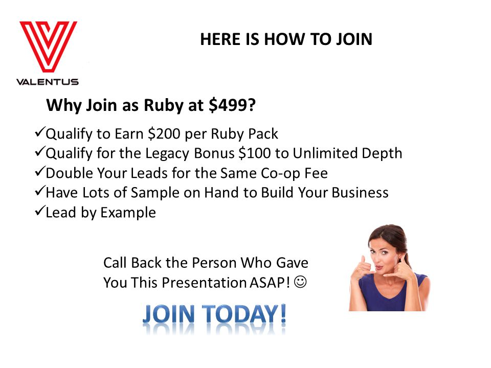 JOIN TODAY! HERE IS HOW TO JOIN Why Join as Ruby at $499