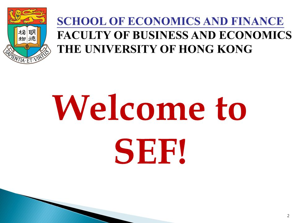 Welcome to SEF!