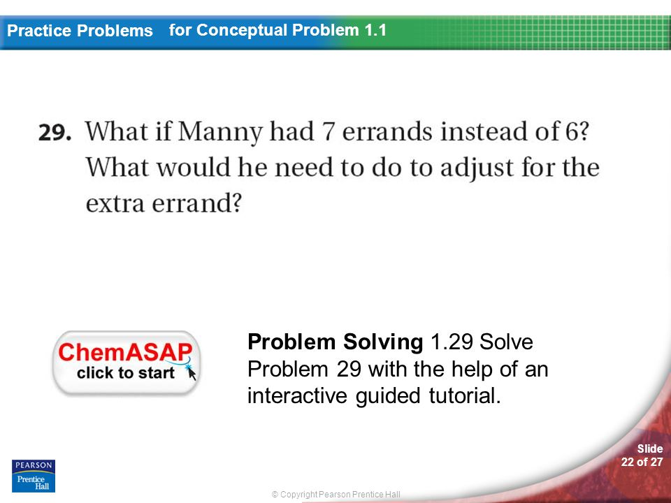 for Conceptual Problem 1.1