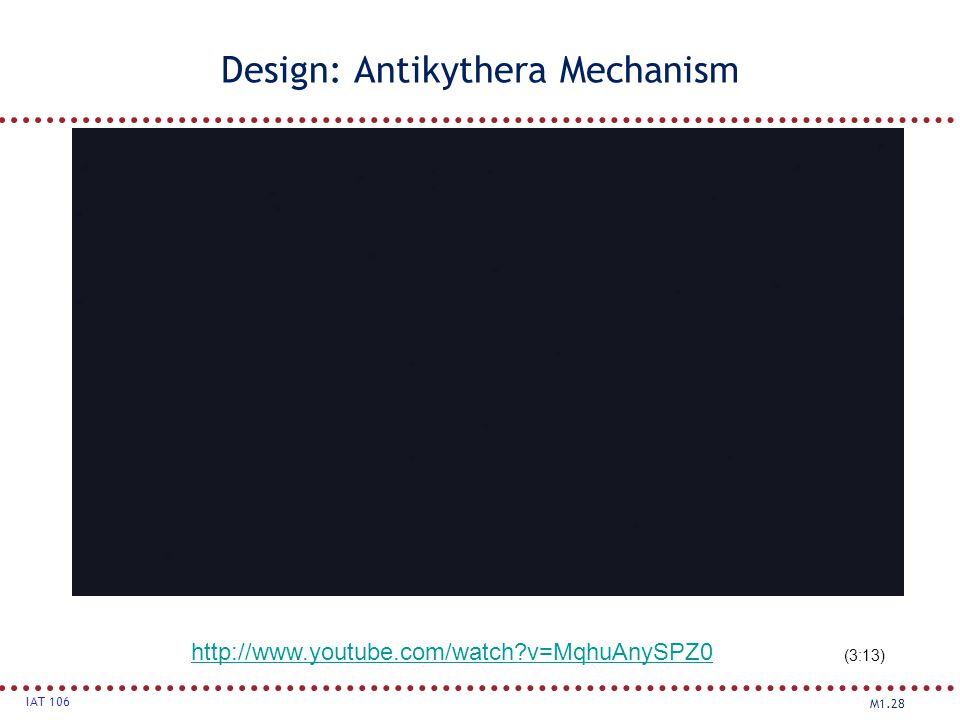 Design: Antikythera Mechanism