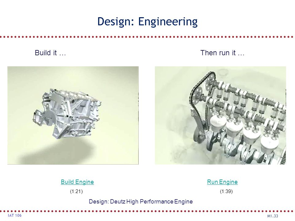 Design: Deutz High Performance Engine