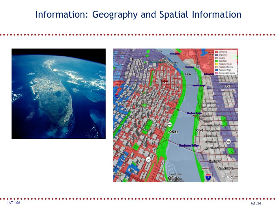 Information: Geography and Spatial Information