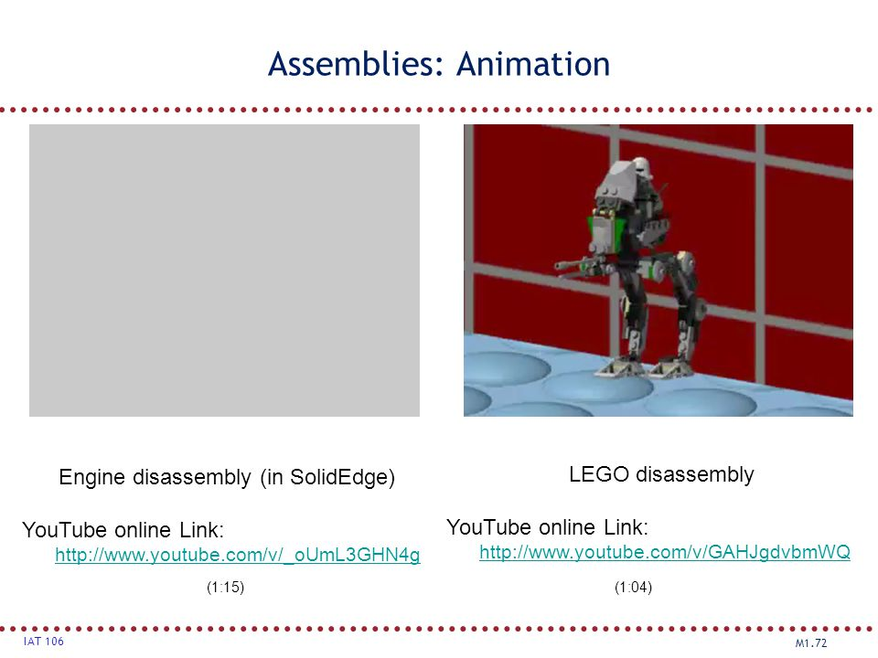 Assemblies: Animation