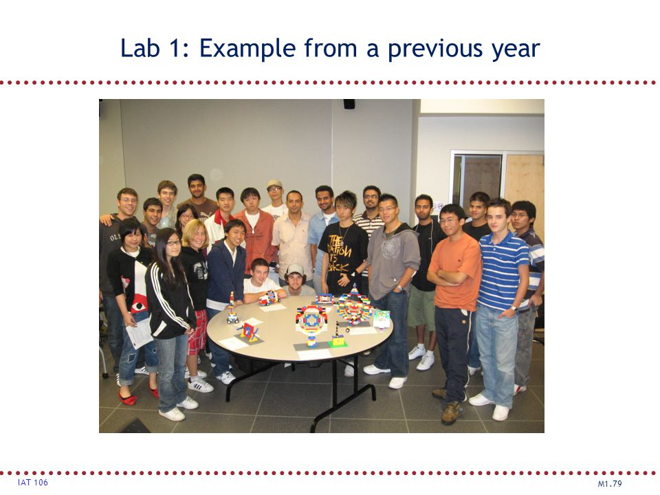 Lab 1: Example from a previous year