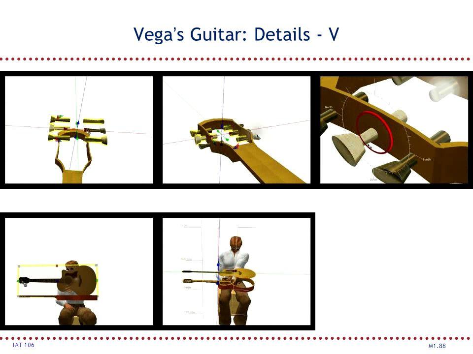 Vega's Guitar: Details - V