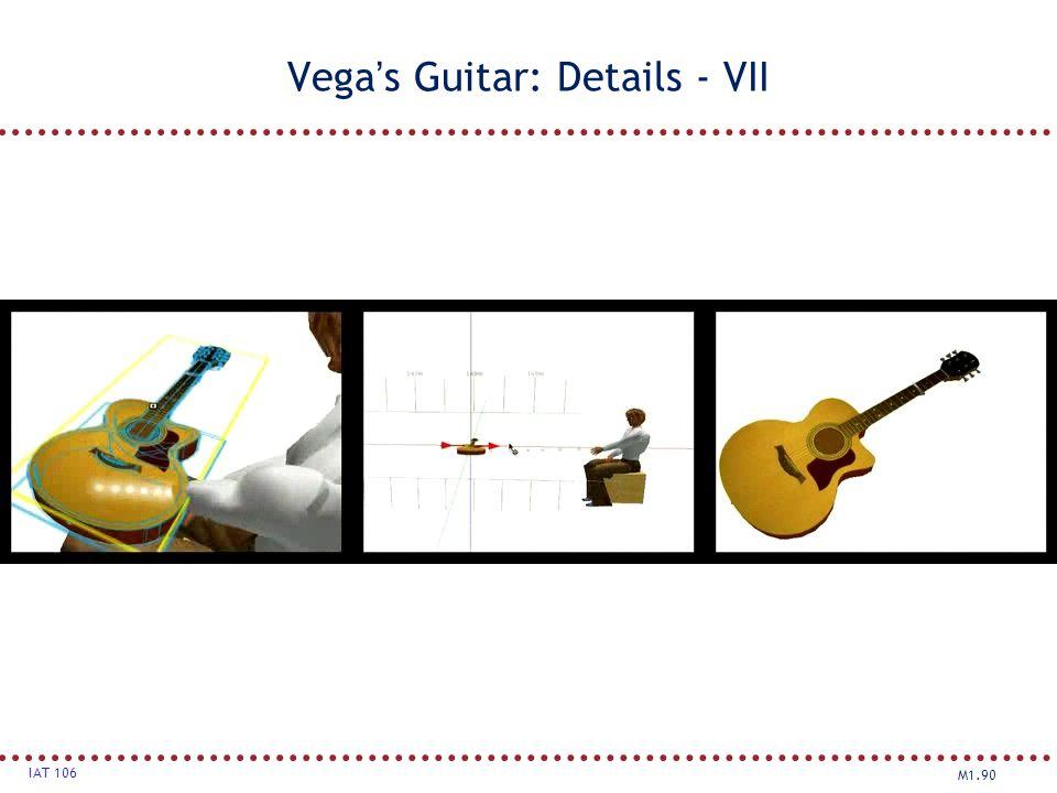 Vega's Guitar: Details - VII