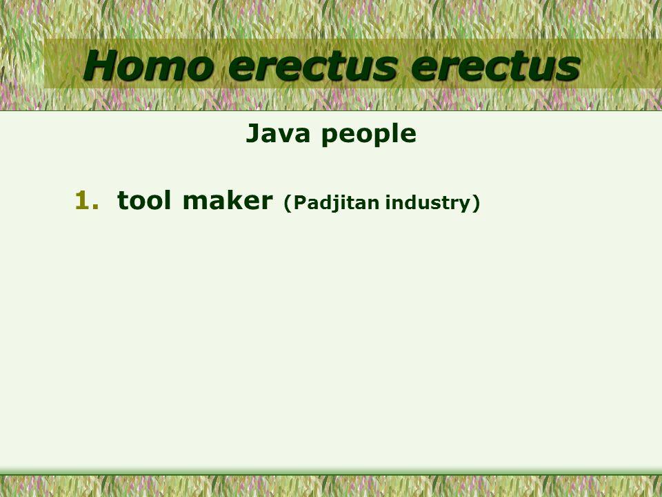 tool maker (Padjitan industry)