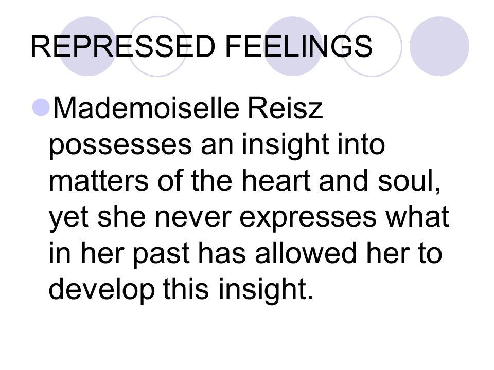 REPRESSED FEELINGS