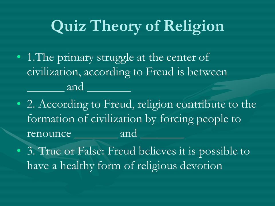 Quiz Theory of Religion