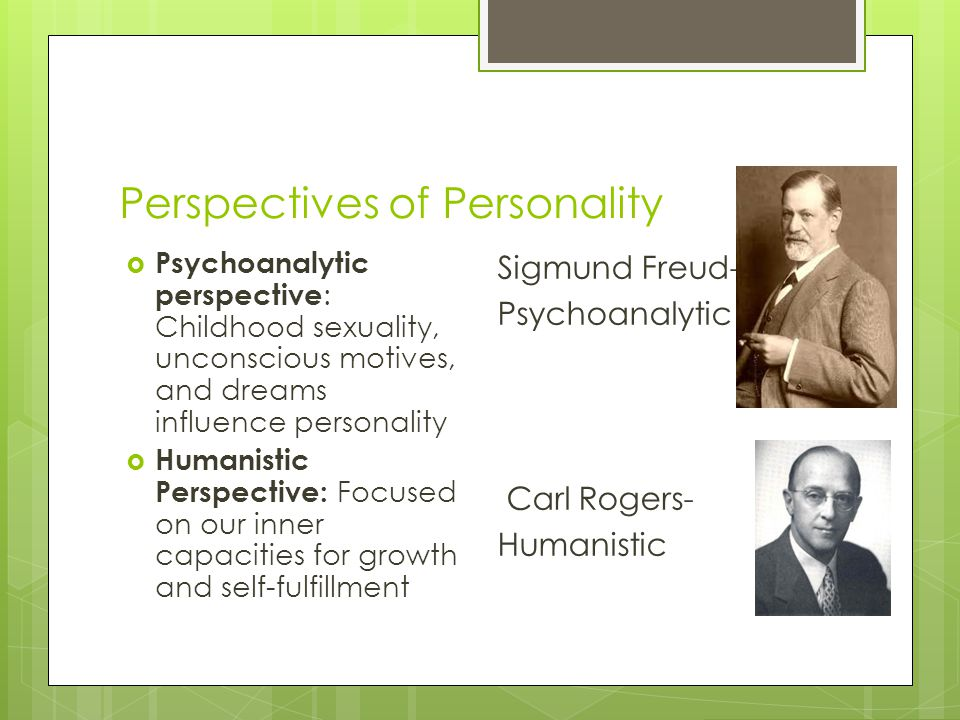 Perspectives of Personality