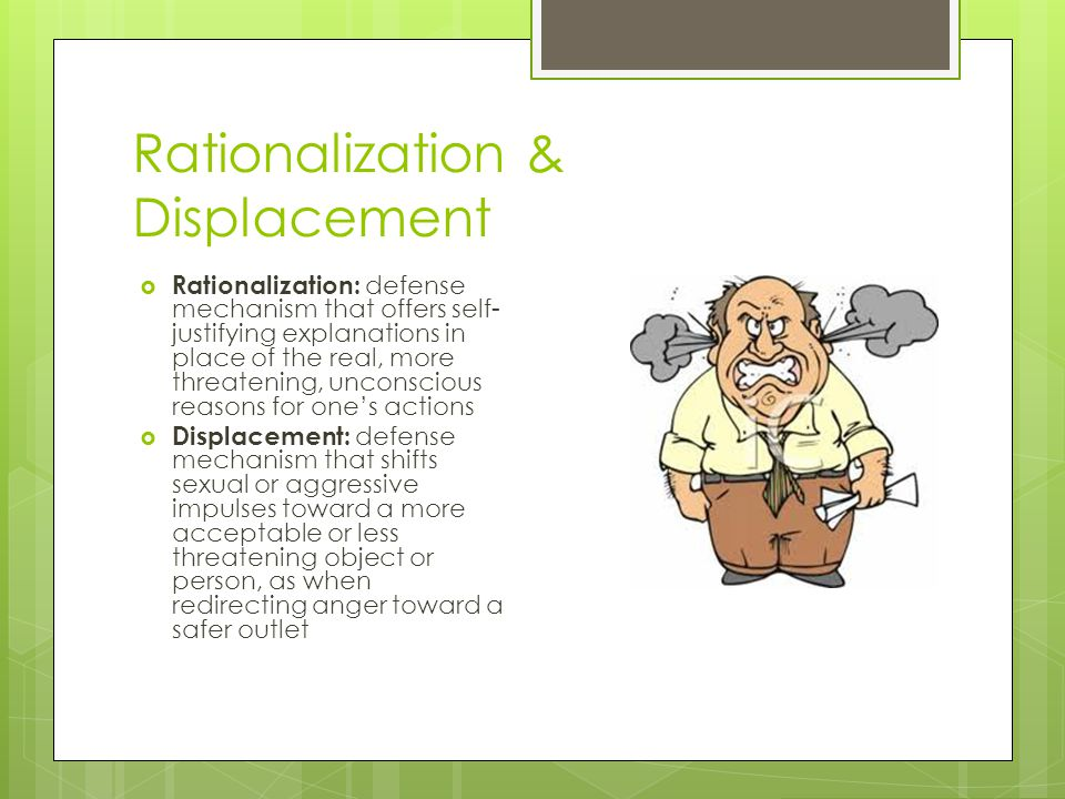 Rationalization & Displacement