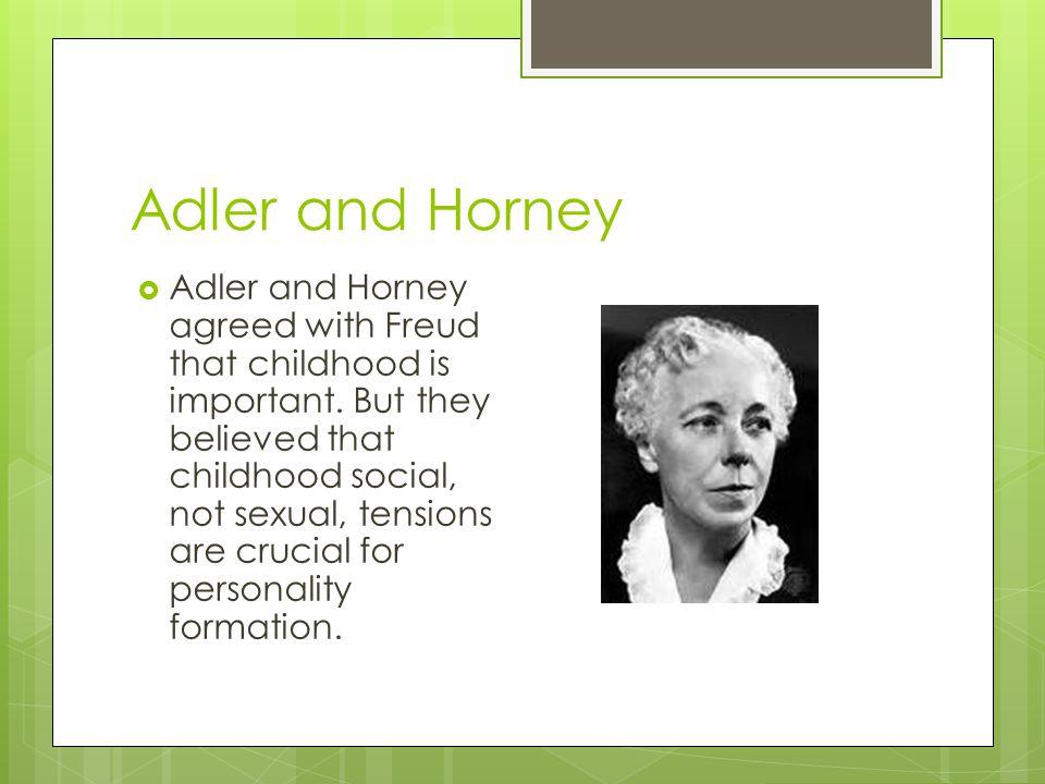 Adler and Horney