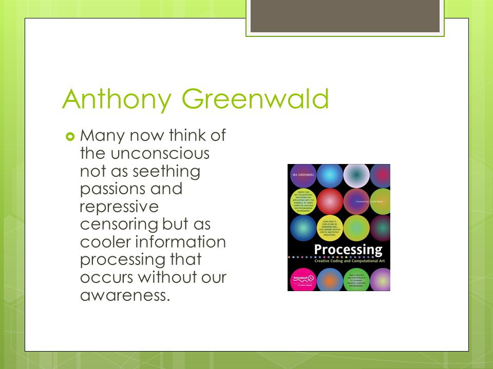 Anthony Greenwald