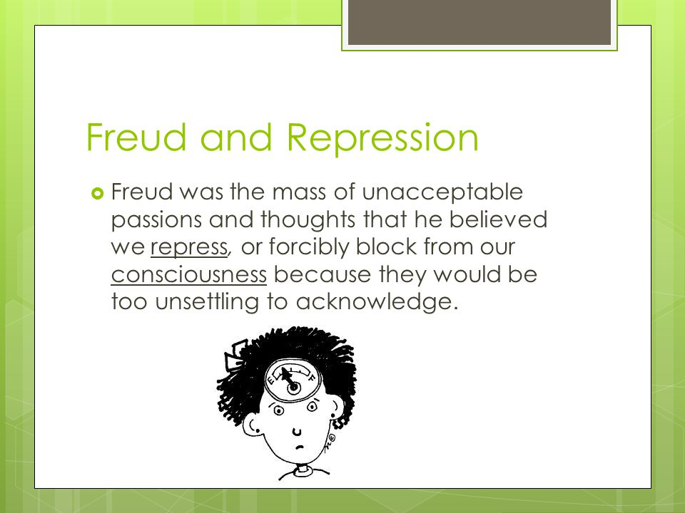 Freud and Repression