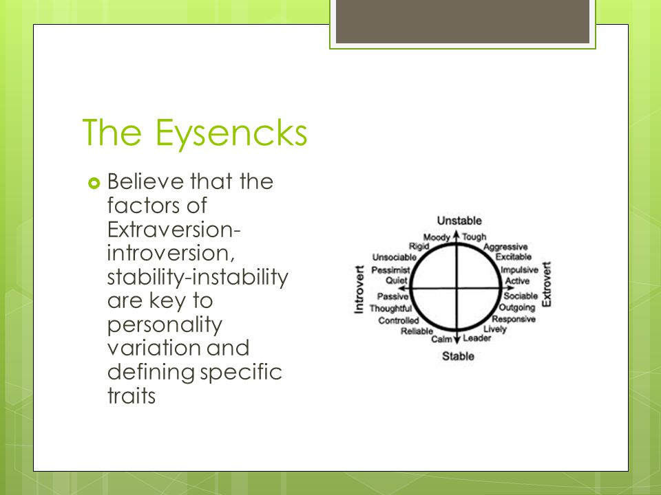 The Eysencks