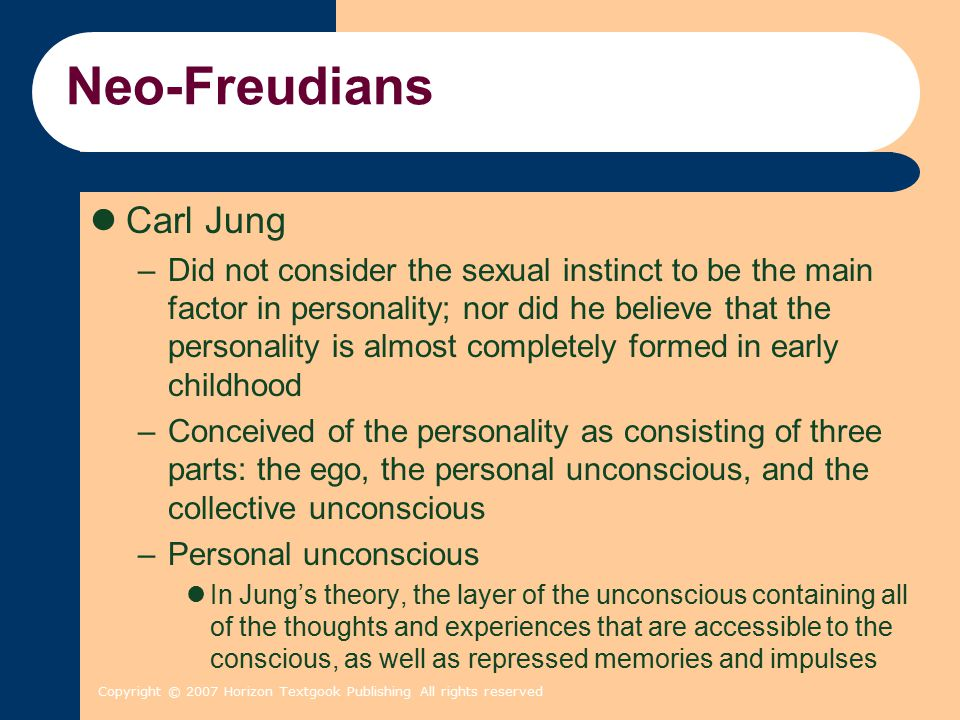 Neo-Freudians Carl Jung