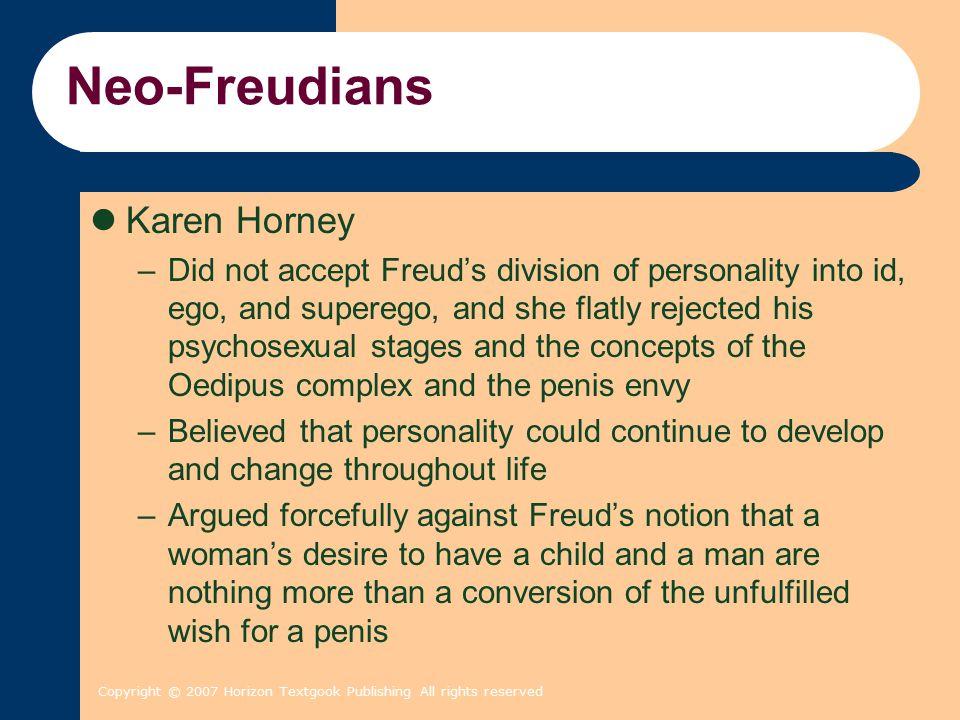 Neo-Freudians Karen Horney
