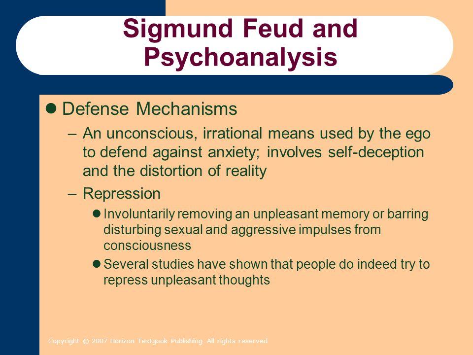 Sigmund Feud and Psychoanalysis