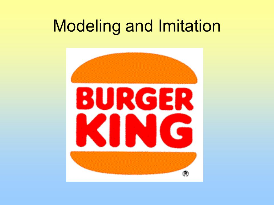 Modeling and Imitation