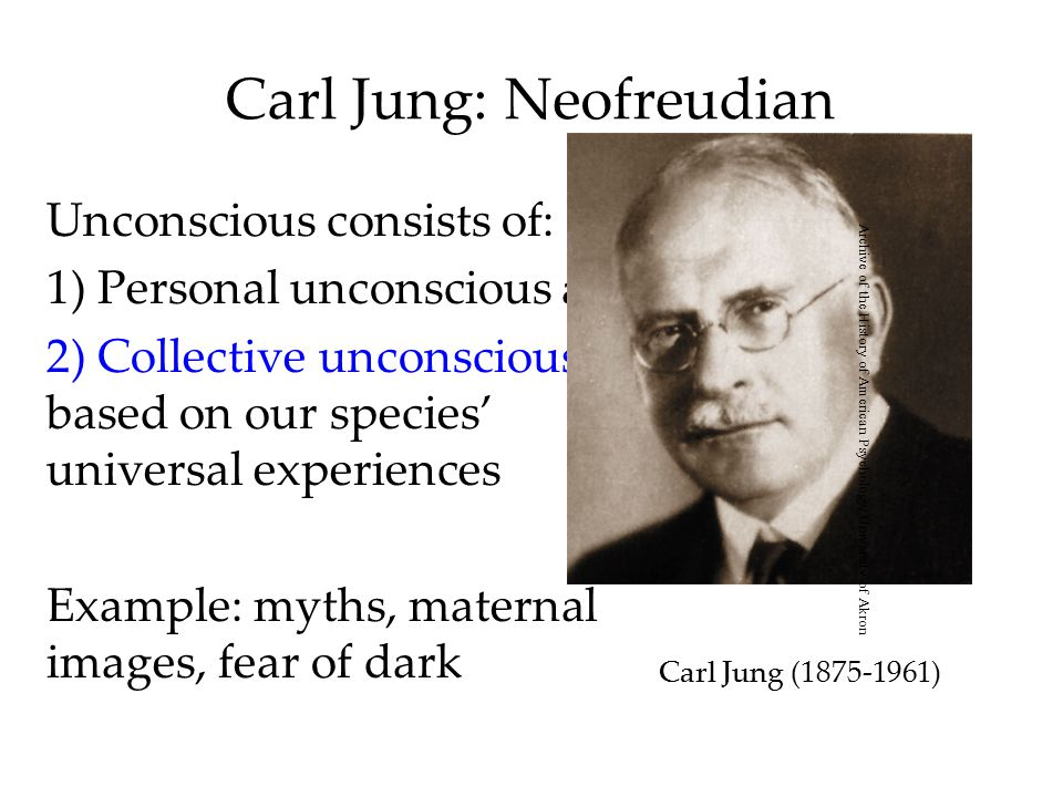 a research on carl jungs psychoanalysis and the unconscious Carl jung: archetypes and analytical psychology exploring the realm of carl jung's collective unconscious and the archetypes that live within it.