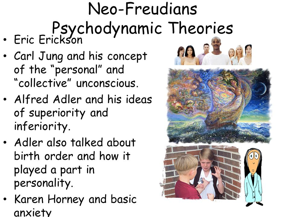Neo-Freudians Psychodynamic Theories