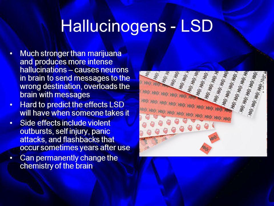 Hallucinogens - LSD