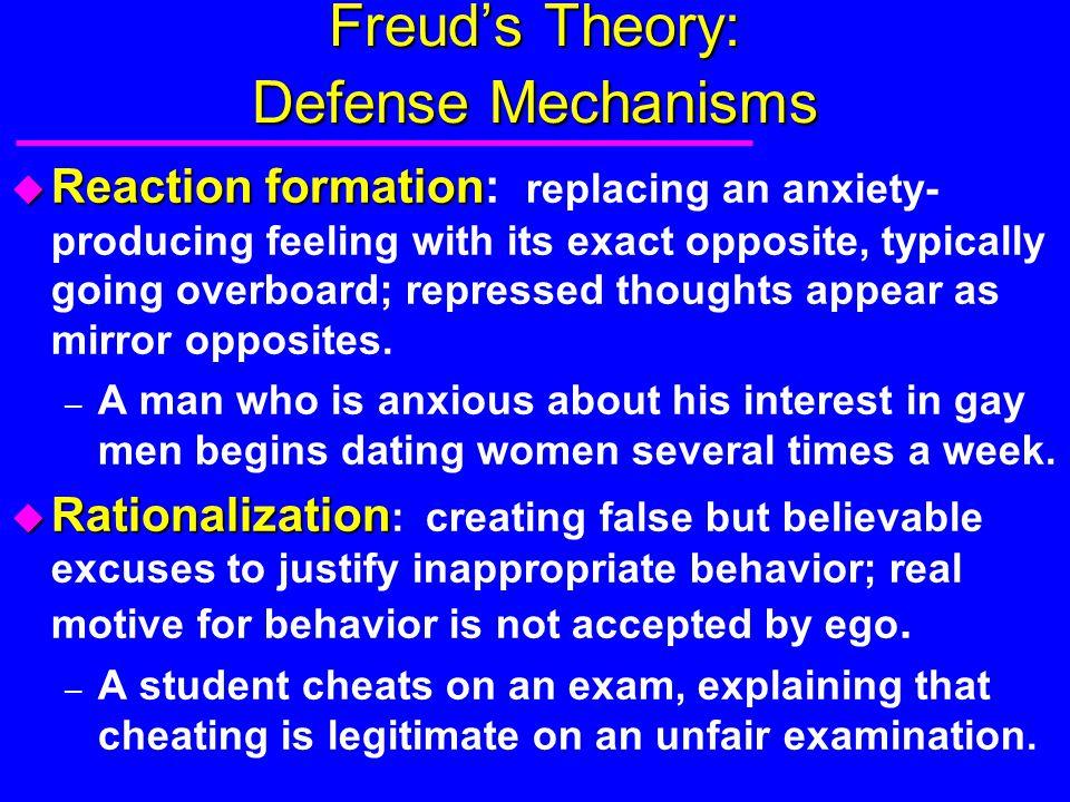 Freud's Theory: Defense Mechanisms