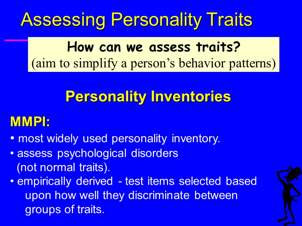 Assessing Personality Traits