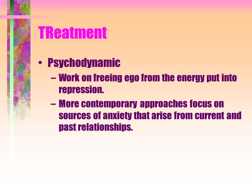 TReatment Psychodynamic