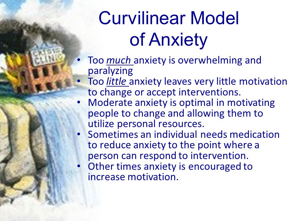 Curvilinear Model of Anxiety