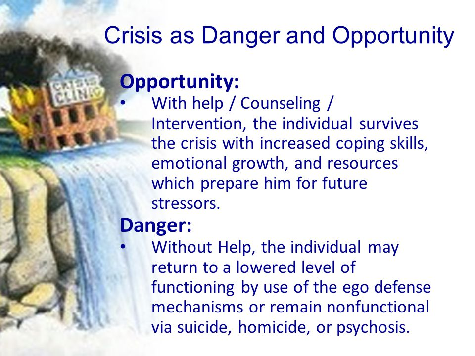 Crisis as Danger and Opportunity